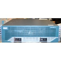 Cisco 3800 Series Integrated Router 100-240V, 50/60Hz, 5-2A - Powers On