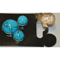 Walt Disney Mickey Mouse Turquois Head Icon Turquoise Pin - #2011