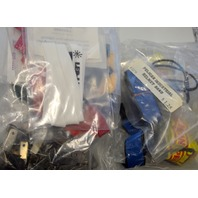 Large Lot of Flashlight Accessories, Pelican an or Tektite, Lanyards and more.