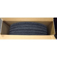 "20"" Black Spray Buffing/Cleaning Pads - 5 per case. #10516B. New old stock."