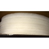 "14"" White Spray Buffing/Cleaning Pads - 5 per case. #10516W. New Old Stock."