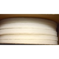 "16"" White Spray Buffing/Cleaning Pads - 5 per case. #10516W. New Old Stock."