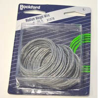 Rockford 25' Strand Medium Wire #31379  home, crafting, agriculture, mechanics. 6 pc