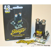 Stinger 80 Amp High Current Relay / Isolator Multi Output  Audio #SGP38. New.