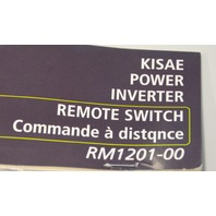 Kisae Power Inverter remote switch RM120-00 On/Off