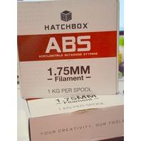 Hatchbox 3D ABS(Polylactic Acid) 1.75 Printer Filament - 1 & 1/2 Spool - Black