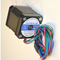 Nema 17 Stepper Motor 84oz.in(59Ncm) 2A 4 Wires w/ 1m Cable & Connector