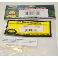JTT Model Part - 97302 Street FurnitureTraffic Light HO 1/8th, Style 1, White 8 pack.