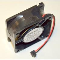 """NMB-MAT 7 Model#2410ML-05W-B40, 24V = DC, 0.12A Fan 2 3/8"""" Square"""