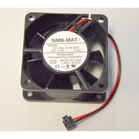 "NMB-MAT 7 Model#2410ML-05W-B40, 24V = DC, 0.12A Fan 2 3/8"" Square"