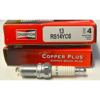 Champion RS14YC6 (13) Copper Plus Spark Plug, Pack of 4