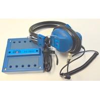 1 - School Smart 10 Position Jackbox #SS-JB8S, 7- Headphones #SS-2970 - New