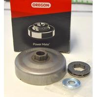 Oregon Clutch Drum #34162 X- 3/8-7 Pin