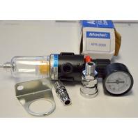 "AFR F.R.L. -2000 Combination Air Filter Regulator 1/4"" NPT 140 Max, PSI"