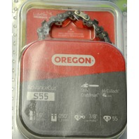 "Oregon S55 16""  55 Links 3/8"" Low Profile Chain Saw Chain replacement"