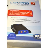 PAC LOC PRO #LP7-2, 2 CHANNEL OUTPUT CONVERTER W/REMOTE TURN ON