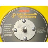 "Astro Pneumatic Tool #4606 6"" PU Hook n Loop Material Backing Pad."