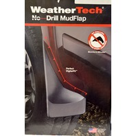 WeatherTech #110013/120014 No Drill Mudflaps Full set front and back.