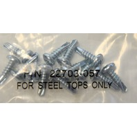 #8 PanHead Philips Self Drilling Steel Head Screws, 10 pks of 12 - 120 Screws