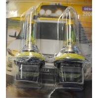 Hella #H11 YL Xtreme Yellow Halogen Bulb Set 2 Per Pack.