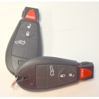 SCITOO - 1X Keyless Entry Remote Start Transmitter Uncut Key FOB 2 pcs.