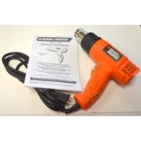 Black and Decker Heat Gun #HG1300 with instruction manual.
