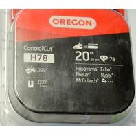 """Oregon H78 Control Cut 20""""/.050""""/.325""""  Open Box"""