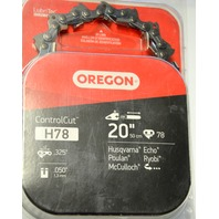 "Oregon H78 Control Cut 20""/.050""/.325""  Open Box"