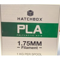 Hatchbox 3D PLA(Polylactic Acid) 1.75 Printer Filament - 1 Spool - White