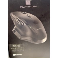 Platimun - Bluetooth 8 button Mouse - Black - NIB - PT-PNMBL8BK