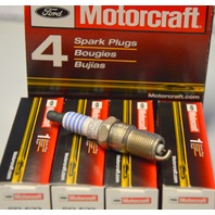 Ford Motorcraft #SP-523 Spark Plugs - 4 Pack - Finewire Platinum.