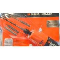 "Black and Decker 6V Alkaline 1/4"" Hex Cordless Drill/Drive - AD600"