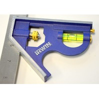"""Irwin Level with 12"""" SS Ruler - no box - Pre owned, In good working condition."""