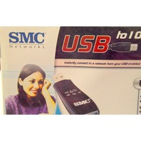 USB 2.0 to 10/100 Mbps Ethernet Adapter by SMC Networkds SMC2209USB/ETH