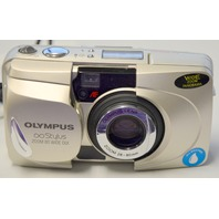 Genuine Olympus Stylus 80 All Weather 35mm Film Camera with strap