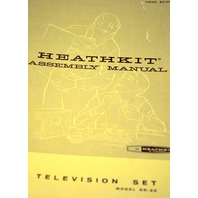 Heathkit Vintage Assembly Manuals (5) for Television Set Model FR-22