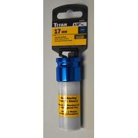 """Titan Tools #21091 17mm 1/2"""" Drive Lug Nut Socket"""
