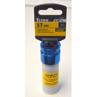 "Titan Tools #21091 17mm 1/2"" Drive Lug Nut Socket"
