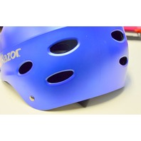 Razor V-17 Youth  Multi-Sport Helmet - Navy Blue - New - no box