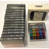 Set 1-Cokin Filter (14), 251 Cokin Filter Holder and 5 pc set of Cokin Coloured Varnish