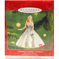 Hallmark Keepsake Celebration Barbie Ornament Special 2001Collector Series #2