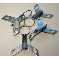 Universal 4 Position Lock for Casters - Quantity 4.
