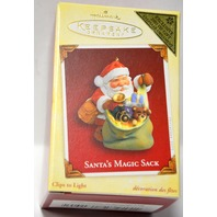 Hallmark Keepsake Santa's Magic Sack Ornament - NIB