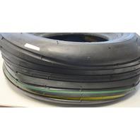 Trac - Gard 13 x 5.00-6 - 4 ply - Smooth rib garden tire.
