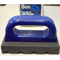 "Bon #12-280 Rub Brick with Handle-6"" x 3"" - 60 Grit."