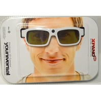 XPAND Electronic 3D Eyewear, Battery Powered, Size M -youniversal! #X104MX1