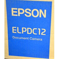 Epson ELPDC12 Document Camera, High Definition, new in the box.