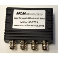 MCM Custom Audio 4 Video Adapter Model 50-7769