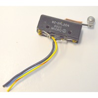 """Micro  Switch 2"""" long by 1/2"""" wide:  #BZ-2RL204 New old stock."""