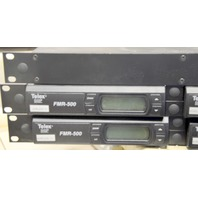 1-Telex UAD4 Antenna Splitter and 4-Telex Clear Scan FMR-500 - All Rack Mountable